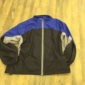 Roundtree and Yorke men's athletic jacket